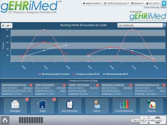 gEHRiMed Screenshot