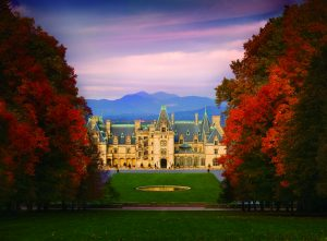 Biltmore House in Autumn